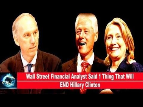 Wall Street Financial Analyst Said 1 Thing That Will END Hillary Clinton(VIDEO)!!