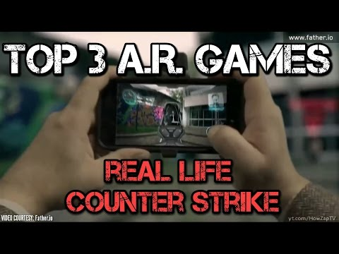 NINTENDO SWITCH A.R. GAMES   Top 3 Augmented Reality Games   Future Favourite AR Games