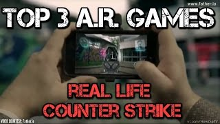 OnePlus 6 A.R. GAMES | Top 3 Augmented Reality Games | Future Favourite AR Games
