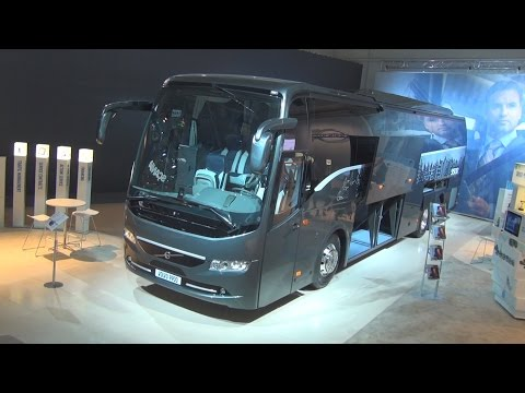 Volvo 9900 Bus Exterior and Interior in 3D 4K UHD