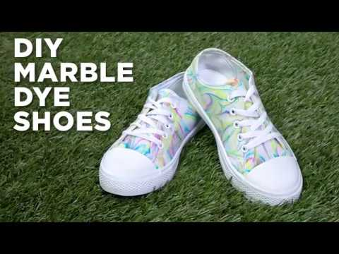 DIY Marble Shoes   Michaels - YouTube