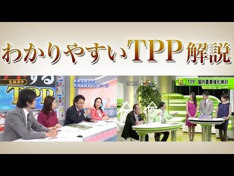 TPP、わかりやすい解説まとめ。メディアに騙されている日本人