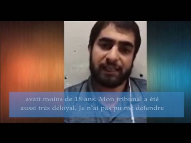 témoignage: Shahram ahmadi condamne a mort dans un tribunal en Iran qui a duré que 5 minutes