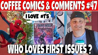 Coffee Comics & Comments #47 A New Collection of comics - First issues of comic books