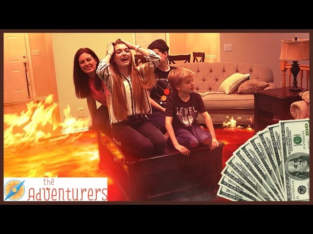 The Floor Is Lava - LAVA MONSTER! Last To Leave TEMPTATIONS / That YouTub3 Family   The Adventurers