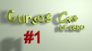 Tutoriales C++ - #1 Primer programa | Cursos para Novatos | En Español
