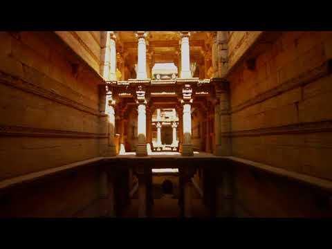 Adalaj Ni Vav- An exemplary structure showcasing  Indo-Islamic architectural work.