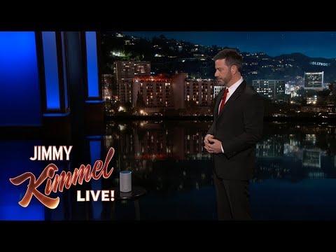 Jimmy Kimmel Gets to the Bottom of Alexa's Creepy Laugh