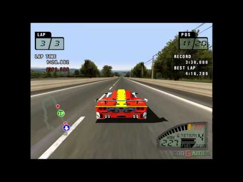 Le Mans 24 Hours - Gameplay PS2 HD 720P