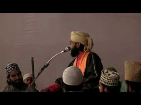 Maulana Hashim Raza Quddusi Puranpuri Taqreer in Mahlau Bareilly Shareef
