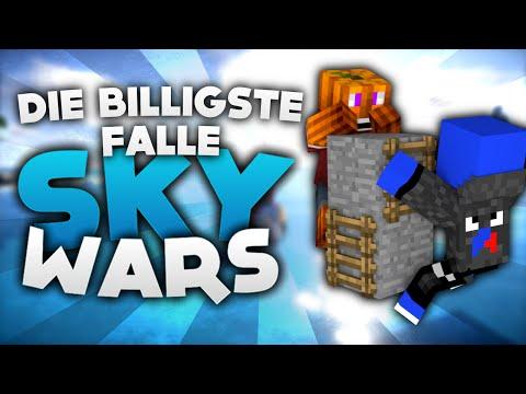 DIE BILLIGSTE FALLE! - Minecraft Sky Wars! | DieBuddiesZocken