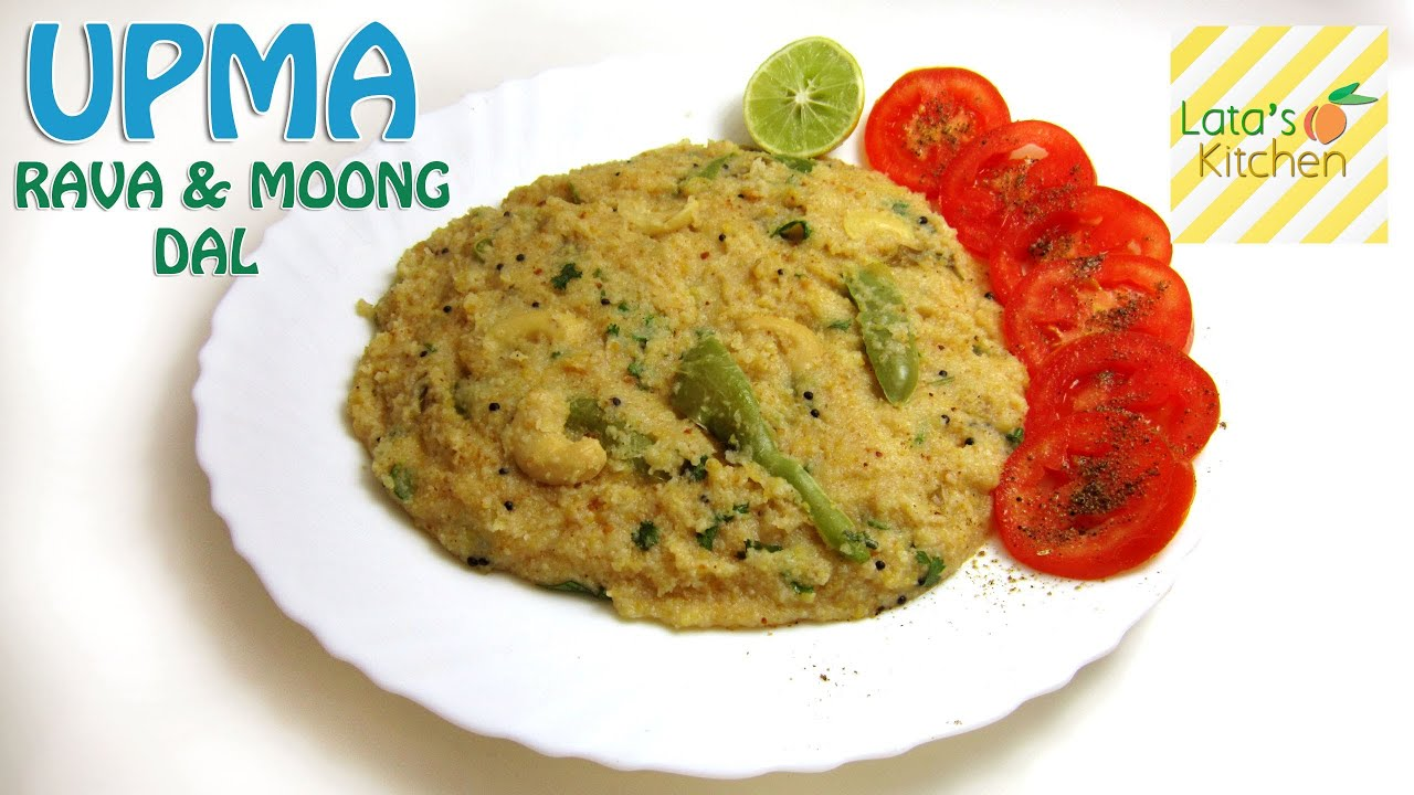 Upma rava moong dal recipe video indian vegetarian breakfast upma rava moong dal recipe video indian vegetarian breakfast recipe by lata jain forumfinder Images