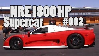 NRE 1800 HP Super Car # 002! Mosler with NRE 427 CI(7L) LSX Monster.  Nelson Supercars