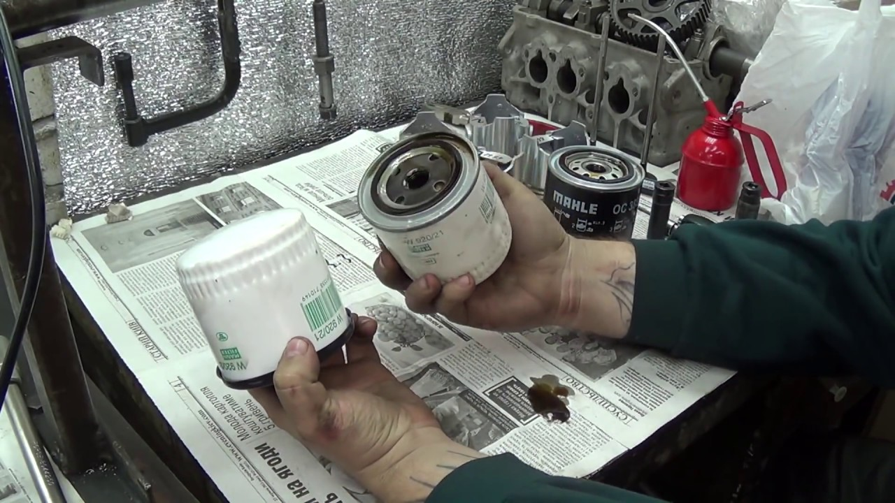 Теория ДВС: При холодном пуске горит давление масла