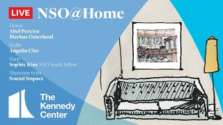 NSO @ Home LIVE • July 19 • Cho, Osterlund, Pereira, Sound Impact & Kim
