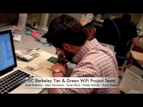 UC Berkeley & Green WiFI Tier Charge Controller redesign Project 2012