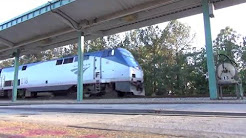 Amtrak Silver Service and Auto Train through Jacksonville Florida