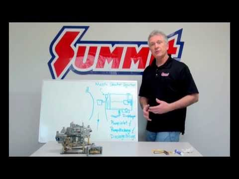 Holley Carb Accelerator Pump Adjustment - Summit Racing Quick Flicks