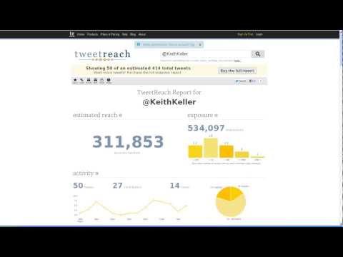 TWEET REACH - How far did your tweets travel?
