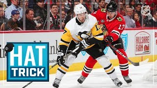Bryan Rust collects second career hat trick