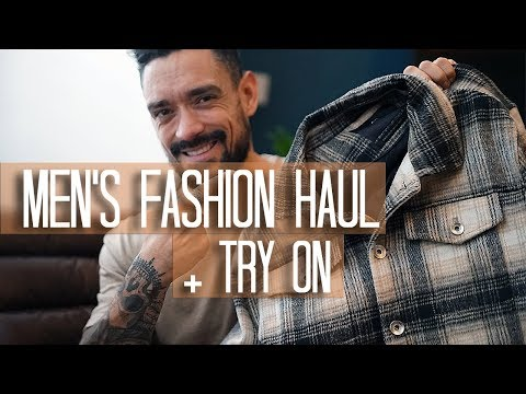 MENS WINTER FASHION HAUL + TRY ON | ZARA MAN