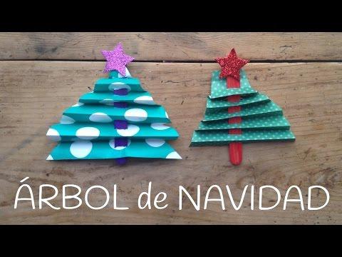 Arbol de navidad con palitos, manualidades para niños con palitos de helado