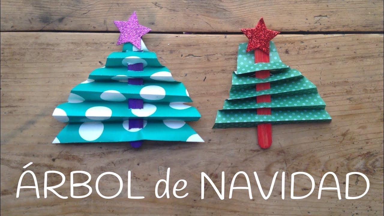 Rbol de navidad con palitos manualidades de navidad - Arbol de navidad para ninos ...