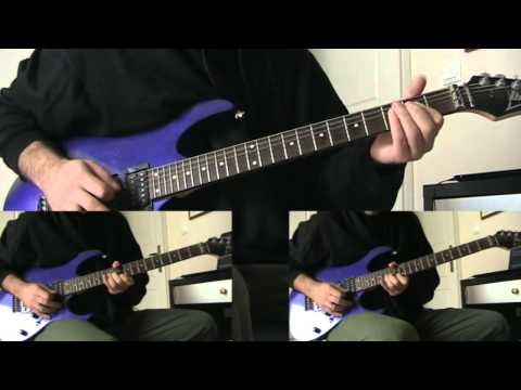 In Flames - Dialogue With The Stars (guitar cover in standard tuning)