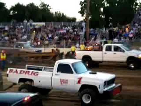 Stanislaus County Fair Truck Pulls 7-26-08