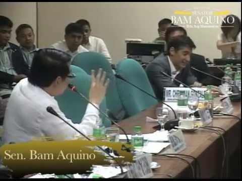 Senate Hearing on Manila Port Congestion