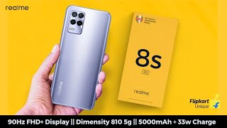 REALME 8S 5G with DIMENSITY 810 - OFFICIALLY CONFIRMED !!!