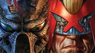 PREDATOR vs JUDGE DREDD vs ALIENS - STORY EXPLAINED