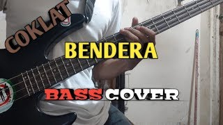Bass COVER || Coklat - BENDERA || (bassist pemula)