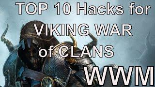 TOP 10 Viking wars of clans Hacks