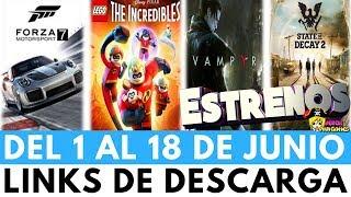 FORZA MOTOSPORT 7 - LEGO LOS INCREIBLES - STATE OF DECAY 2 Y MÁS EN ESTRENOS Y ACTUALIZACIONES