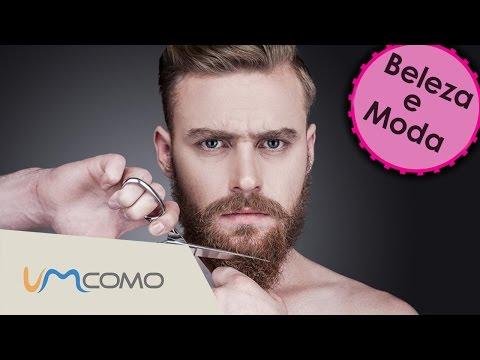 Como alisar a barba