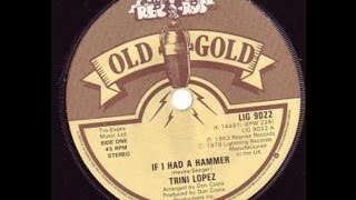 Trini Lopez - If I Had A Hammer / WITH LYRICS / Stereo / HD 1080p