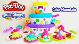 Play-doh Sweet Shoppe Cake Mountain Playset Unboxing