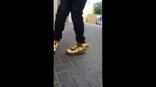 Adidas wings 3 gold chrome
