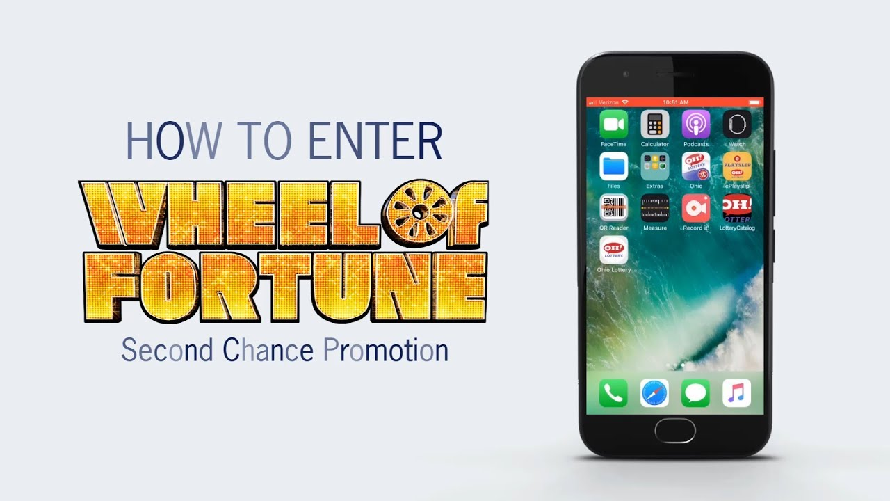 How to Enter: Wheel of Fortune Second Chance Promotion