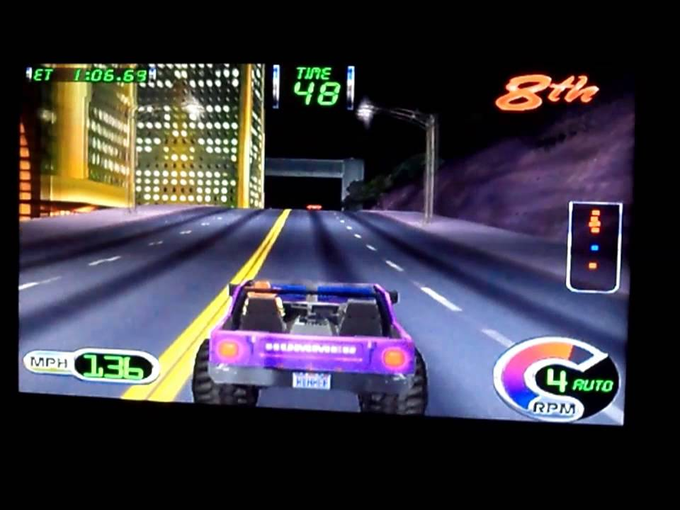 Car Driving Games >> Cruis'n Exotica Arcade Driving Game - YouTube