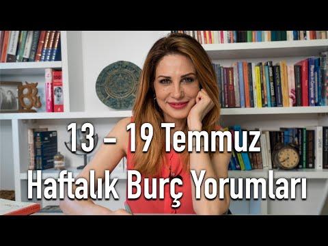 13 - 19 Temmuz Haftalık Burç Yorumları - Hande Kazanova ile Astroloji