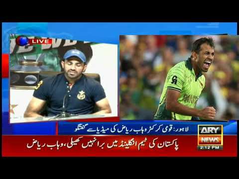&39;I was dreaming about World Cup even before selection&39; - Wahab Riaz