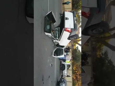 Accident on Rissik Street, Polokwane