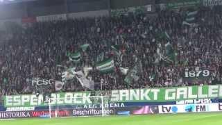 24.09.2013 FC St. Gallen - BSC Young Boys Bern