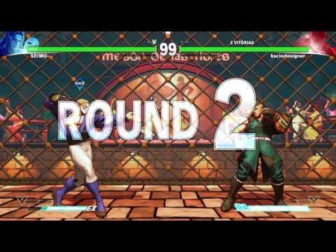 STREET FIGHTER V - Vega (SEIMO) vs Ed - Comeback
