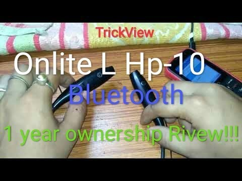 5f7859d7f7f Onlite L-HP10 Bluetooth earphone with multi functional... - YouTube