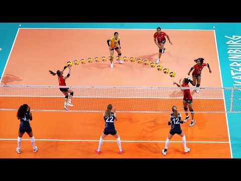 the-brain-of-volleyball-team-thailand-|-nootsara-tomkom-|-(hd)