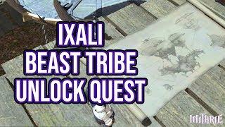 FFXIV 2.35 0388 Unlock Ixali Dailies (Beast Tribe Quests)