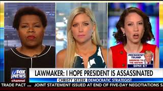 """Democrat Lawmaker says, """"I Hope Trump Is Assassinated"""" and FAKE MEDIA ignores it,"""